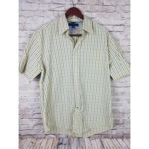 Tommy Hilfiger Men's Button Down Shirt Size Large